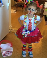 Circus Clown Homemade Costume