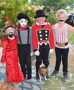 Circus Crew Homemade Costume