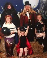 Circus Freak Show Family Homemade Costume