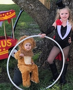Circus Lion Homemade Costume