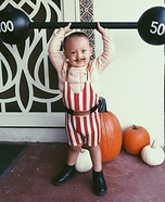 Circus Strongman Homemade Costume
