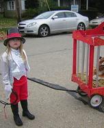 Circus Tamer Homemade Costume