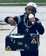 CJ the DJ and his Pioneer Speakers Homemade Costume