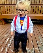 Clark Kent Toddler Halloween Costume