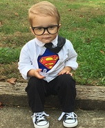 Clark Kent Homemade Costume