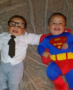 Clark Kent & Superman Homemade Costume
