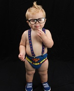 Clark Kent Superman Baby Costume