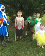 Clash of Clans Kids Homemade Costume