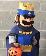 Clash Royale King Homemade Costume