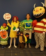 Fun family Halloween costume ideas - Classic Children's Books Family Homemade Costume