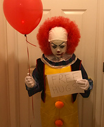 Classic Pennywise Homemade Costume