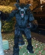 Classic Werewolf Lycan Homemade Costume