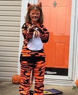 Clemson Tiger Homemade Costume