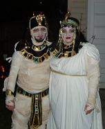 Cleopatra & King Tut Mummy Homemade Costume