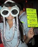 Clippy Assistant Paperclip Costume