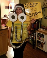 Clippy Homemade Costume