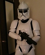 Clone Trooper Homemade Costume