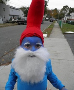 Homemade Papa Smurf Costume