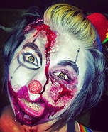 Scary Halloween costume ideas - Creepy Clown Halloween Costume