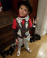 Easy DIY Clown Costume