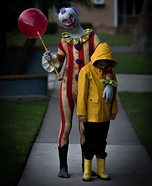Clown and Georgie Homemade Costume