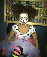 Clown Bright Costume