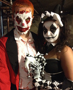 Clown Couple Homemade Costume