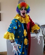 Clown Craigy Homemade Costume