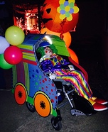 Clown in a Clown Car Homemade Costume