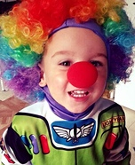 Clown Lightyear Costume
