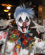 Clown Zombie Homemade Costume