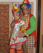 Clownin' Around Couples Costume