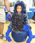 Cobalt Blue Tarantula Homemade Costume
