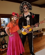 Coco Frida and Hector Homemade Costume