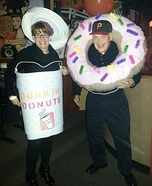 Coffee and Donuts Couple Costume