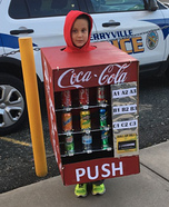 Coke Machine Homemade Costume