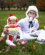 Colonel and Bucket of Fried Chicken Homemade Costume
