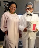 Colonel Sanders and Wife Homemade Costume