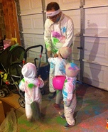 Color Runners Homemade Costume