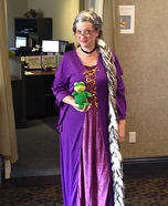 Comb Over Rapunzel Homemade Costume
