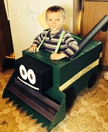 Combine Harvester Homemade Costume