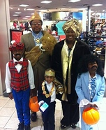 Coming to America Family Costume