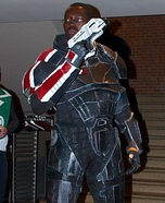 Commander Shepard Homemade Costume
