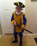 Commodore Norrington Homemade Costume