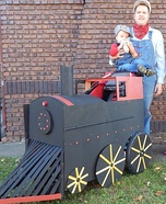 Parent and baby costume ideas - Conductor and Engineer Costume