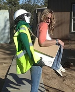 Construction Zone Homemade Costume