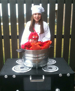 Cooked Lobster Homemade Costume
