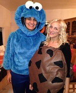 Cookie & Cookie Monster Homemade Costume