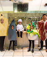 Cooking Family Homemade Costume