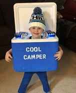 Cool Camper Homemade Costume